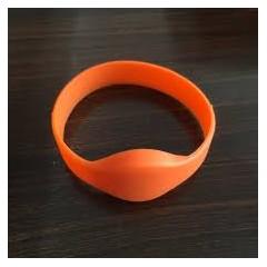 Pulsera Silicona Rfid 125khz Tk4100 Sumergible Naranja Itytarg