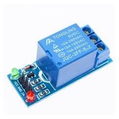 Modulo Rele 1ch 5v Bornera Arduino  250v 10a Itytarg