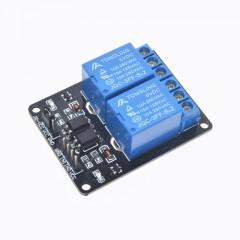 Modulo Rele 2ch Opto 5v Arduino 10a Itytarg