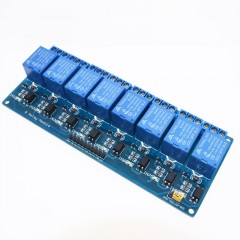 Modulo Rele 8ch 5v Relay Opto C/ Arduino Itytarg