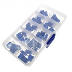 Kit Caja 50 Preset Multivuelta 3296w 10 Valores Arduino Itytarg
