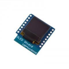 Display Oled Shield Esp32 D1 Mini 0.66  64x48 I2c Itytarg