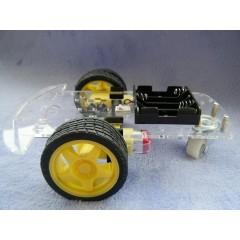 Kit 2wd Motor Robot Chasis Auto Robotica Arduino Itytarg
