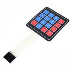 Teclado Membrana Matricial 4x4 Autoadhesivo Arduino