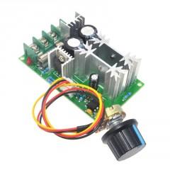 Control Velocidad Motor Pwm Dc Regulador 10v-60v 20a  Itytarg