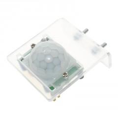 Soporte Acrilico P/ Hc-sr501 Sensor Movimiento Infrarrojo Pir  + Tornillos Itytarg