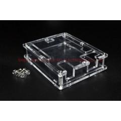 Caja Acrilico Gabinete Arduino Uno R3 Shell Box  Itytarg